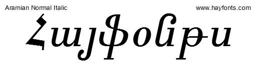 Armenian Font For Mac